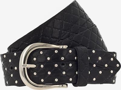 b.belt Handmade in Germany Ledergürtel 'LINA' in schwarz, Produktansicht