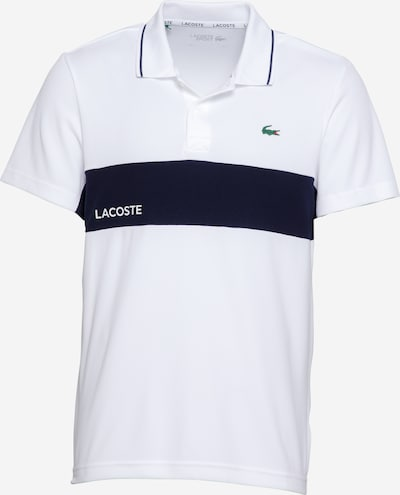 Lacoste Sport Koszulka funkcyjna w kolorze granatowy / białym, Podgląd produktu