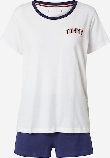 Tommy Hilfiger Underwear Short Pajama Set in Navy / Melon / Off white, Item view