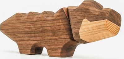 FABLEWOOD Figur 'Little Crocodile' in braun, Produktansicht