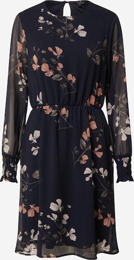 VERO MODA Kleid 'Smilla' in dunkelblau / grau / rosé / weiß, Produktansicht