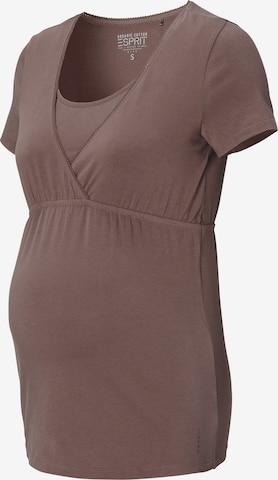 Esprit Maternity Slaapshirt in Grijs
