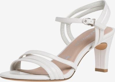 TAMARIS Strap sandal in natural white, Item view