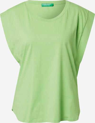 UNITED COLORS OF BENETTON T-shirt en kiwi, Vue avec produit