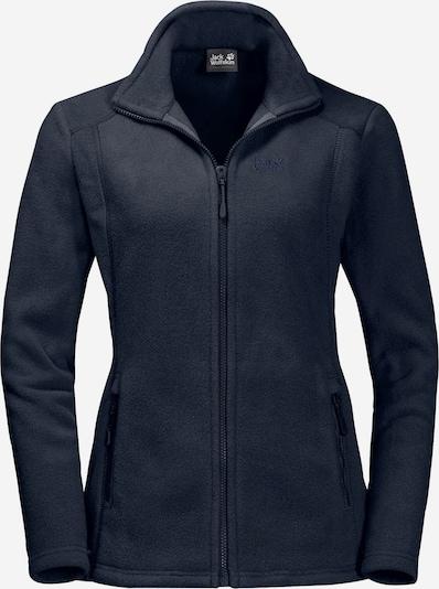 JACK WOLFSKIN Functionele fleece jas 'Midnight Moon' in de kleur Nachtblauw, Productweergave