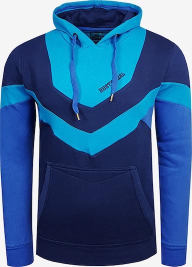 Rusty Neal Sweatshirt in blau / türkis, Produktansicht