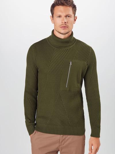 anerkjendt Sweter w kolorze oliwkowym: Widok z przodu