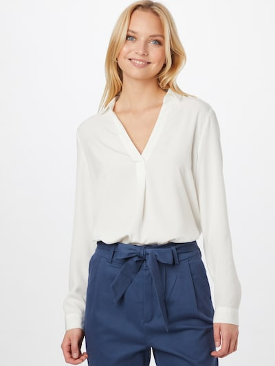 s.Oliver Blouse in de kleur Offwhite, Modelweergave