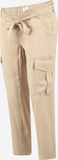 MAMALICIOUS Pantalon cargo 'MLBENITA' en beige, Vue avec produit