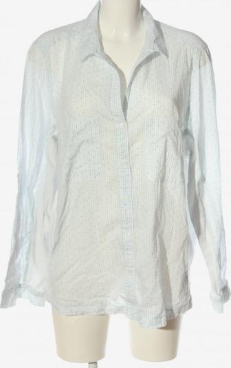 Violeta Hemd-Bluse in XXL in blau / wollweiß, Produktansicht