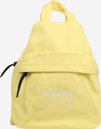 TOM TAILOR DENIM Batoh 'Lia' - světle žlutá / černá / bílá, Produkt