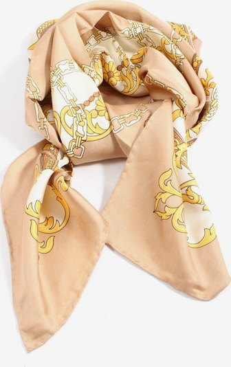 Alfredo Pauly Halstuch in One Size in creme / nude / gold, Produktansicht