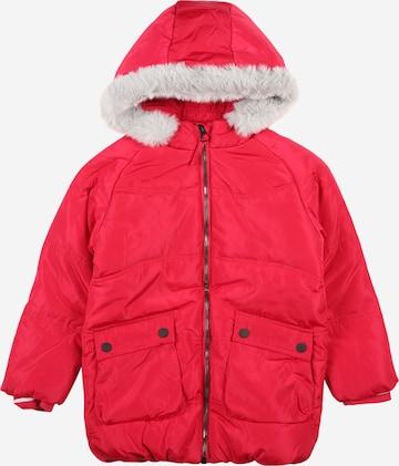 LEMON BERET Winter Jacket in Red