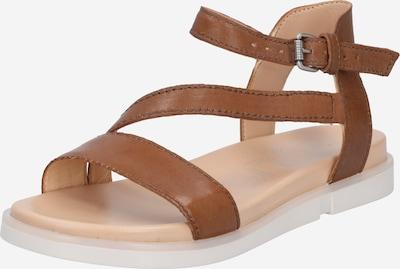 Sandale cu baretă 'KETTA' MJUS pe maro coniac, Vizualizare produs