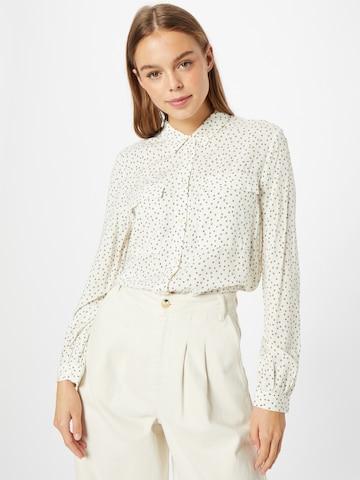 ESPRIT Μπλούζα σε λευκό