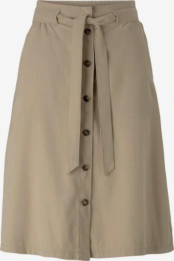 TOM TAILOR Jupe en beige foncé, Vue avec produit