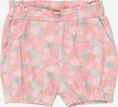 NAME IT Shorts 'Josefine' in mint / orange / rosa, Produktansicht