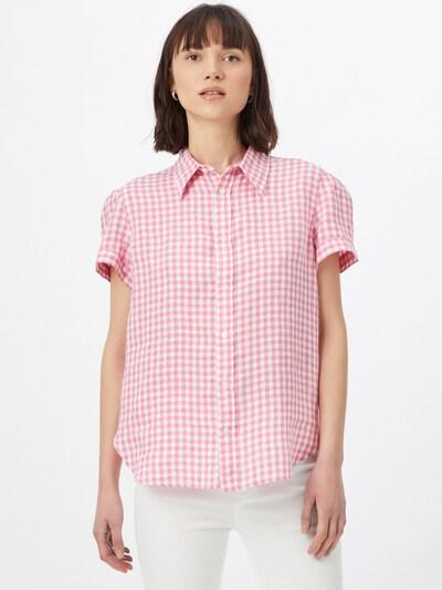 POLO RALPH LAUREN Hemd in pink / weiß, Modelansicht