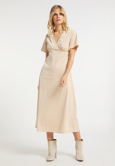 IZIA Kleid in beige, Modelansicht