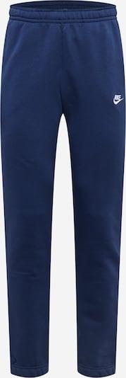 Nike Sportswear Hose in navy / weiß, Produktansicht