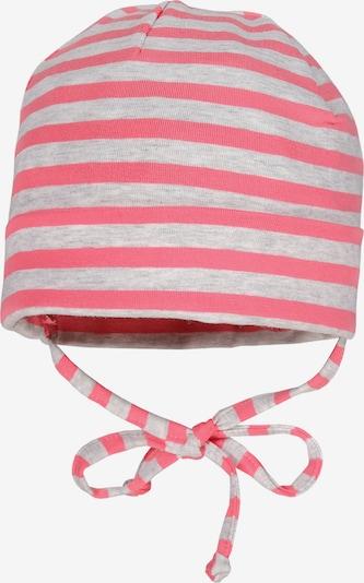 MAXIMO Czapka w kolorze jasnoszary / różowy pudrowym, Podgląd produktu