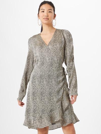 Neo Noir Kleid in beige / schwarz, Modelansicht