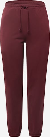 Pantalon 'OCTAVIA' Vero Moda Curve en rouge