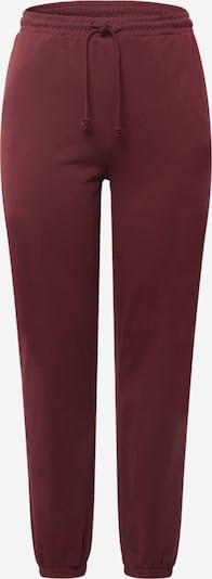 Vero Moda Curve Pantalon 'OCTAVIA' en lie de vin, Vue avec produit