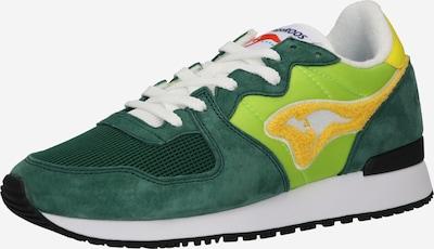 KangaROOS Sneaker 'Aussie' in gelb / hellgrün / dunkelgrün / weiß, Produktansicht