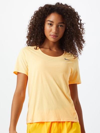 világos sárga NIKE Funkcionális felső 'City Sleek', Modell nézet