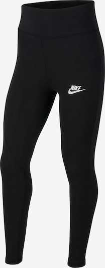 Nike Sportswear Leggings in de kleur Zwart / Wit, Productweergave