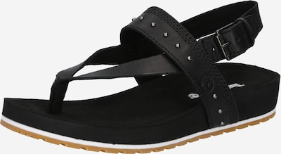 TIMBERLAND T-bar sandals in Black, Item view