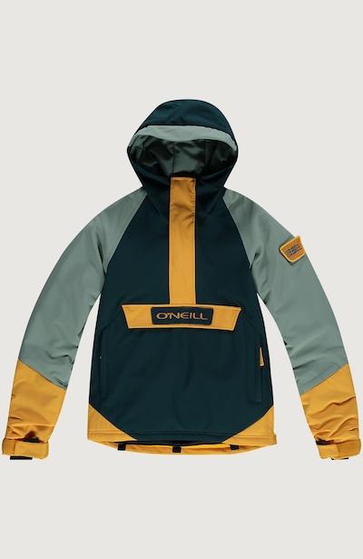 O'NEILL Skijacke 'Edge' in goldgelb / jade / tanne, Produktansicht