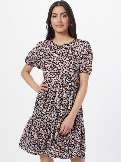 ONLY Vestido de verano 'PELLA' en dorado / coral / rosa claro / negro / blanco, Vista del modelo