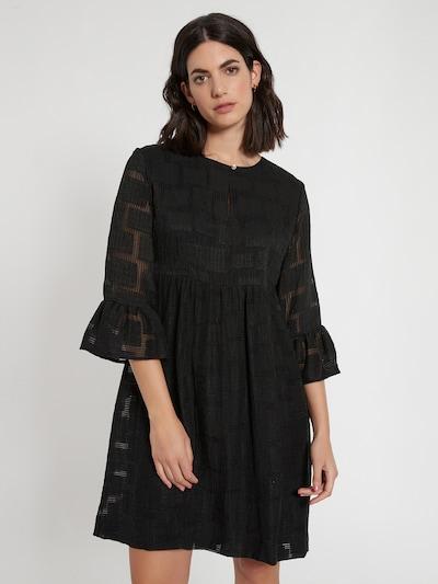 Ana Alcazar Kleid 'Calu' in schwarz, Modelansicht