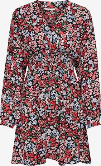 ONLY Kleid 'Tamara' in hellblau / grün / altrosa / rot / schwarz, Produktansicht