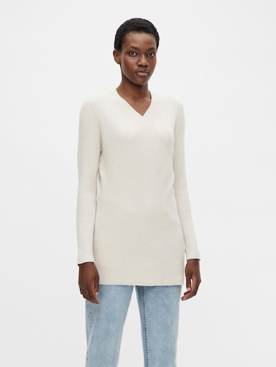 OBJECT Knit Cardigan 'Fae' in Light grey, View model