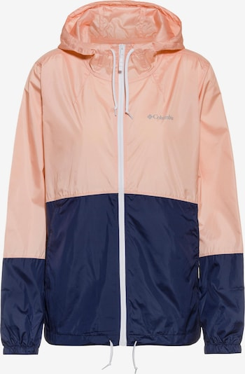 COLUMBIA Jacke 'Flash Forward' in marine / grau / rosa, Produktansicht