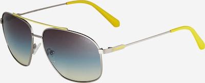 GUESS Slnečné okuliare - žltá / zlatá / fialová, Produkt