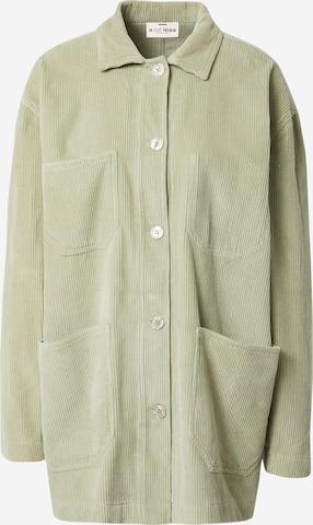 A LOT LESS Between-Season Jacket 'Cara' in Green