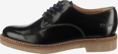 KICKERS Schnürschuhe ' Oxfork ' in schwarz, Produktansicht