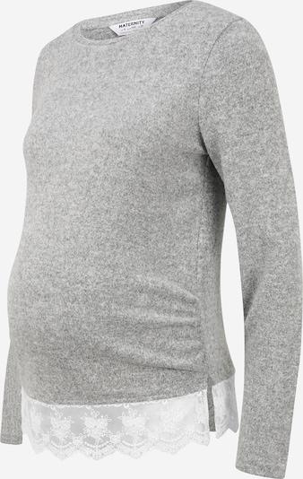 Dorothy Perkins Maternity Koszulka w kolorze nakrapiany szary / białym, Podgląd produktu