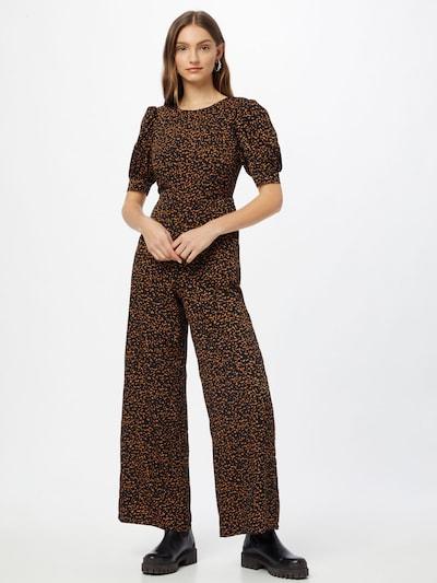 Fashion Union Jumpsuit 'BETHANY' en marrón / negro, Vista del modelo