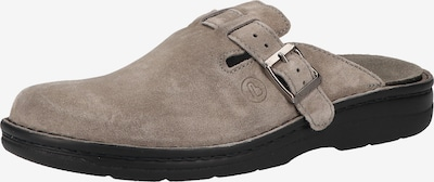 BERKEMANN Pantoufle en gris, Vue avec produit