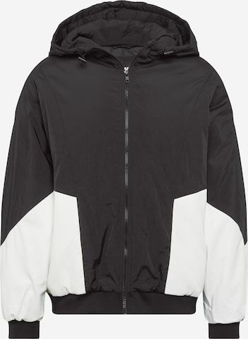 Urban Classics Curvy Φθινοπωρινό και ανοιξιάτικο μπουφάν σε μαύρο