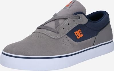 DC Shoes Sportschoen 'SWITCH' in de kleur Navy / Grijs / Sinaasappel, Productweergave