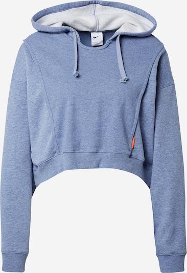 NIKE Athletic Sweatshirt in Smoke blue, Item view