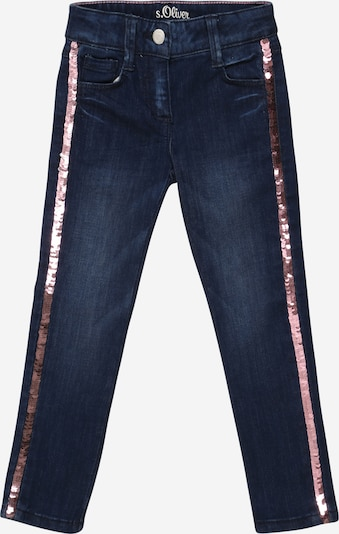 s.Oliver Junior Jeans 'Kathy' in blue denim / rosé, Produktansicht