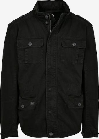 Brandit Jacke 'Britannia' in Schwarz