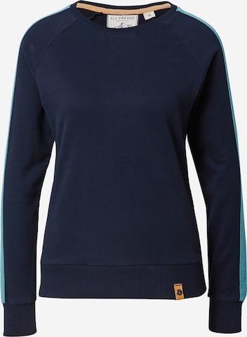 Fli Papigu Sweatshirt 'Mary Jane Hase' in Blue